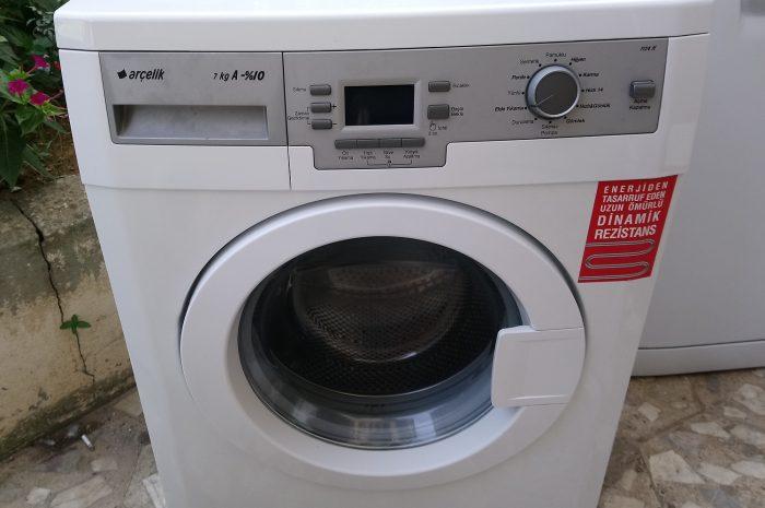 arçelik 7 kilo A + çamaşır makinesi 350 lira