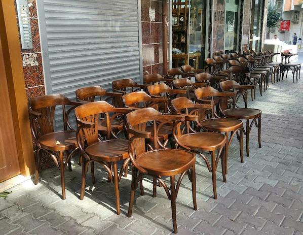 ikinci el BAHCE VE RESTAURANT sandalyeleri