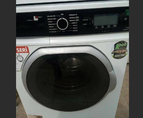 kullanılmış a plus vestel çamaşır makinesi