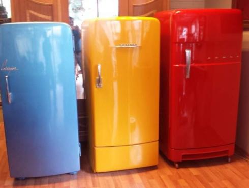 ikinci el renkli mini buzdolabı sümer spot